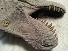 Jurassic Park Raptor, Jurassic Park Toys, Dinosaur Fossils, Prehistoric Animals, Creature Design, Science And Nature, Zbrush, Dragons, Sculpting
