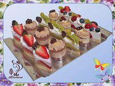 Semifreda - jahodové, karamelové, parížske a tvarohové Mini Cheesecakes, Cake Shop, Party Snacks, Mini Cakes, Catering, Food And Drink, Ice Cream, Cooking Recipes, Sweets