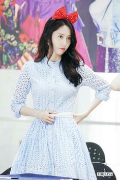 What a great dress, Yoona!