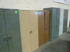 Used Steel Storage Cabinets