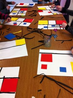 #Mondrian #Workshop