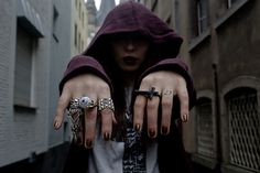 """Gina Tricot Shirt, Criminal Damage Jeans, H Dragon Tattoo Collection Cardigan, Weekday Boots, Topshop Ring, Topshop Rings //""""I DON'T GIVE A F*CK ABOUT MY BAD REPUTATION"""" by Masha Sedgwick // LOOKBOOK.nu"""