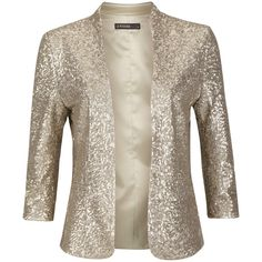 SuperTrash Blazer June Gold. This would so rock my outfit!