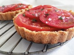 Fresh Tomato Tart - What to do in the middle of tomato season