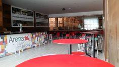 #Cafetería Arena Sport Club