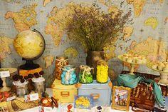mesa dulce viajes / travel dessert table. www.antojitoseventos.com