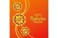 Raksha Bandhan emblems   Pre-Designed Illustrator Graphics ~ Creative Market Raksha Bandhan Greetings, Happy Rakshabandhan, Rakhi, Creative, Illustration, Illustrations