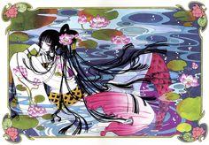 CLAMP, xxxHOLiC, Ichihara Yuuko, Witch, Lotus (Flower), Mermaid