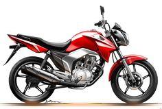 Esquete Honda CG 150 Titan 2014 (Foto: Divulgação)