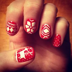 My Christmas nails - Christmas Sweater