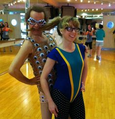 though Richard Simmons had always been an idol of mine, it wasn't until I saw his googly eyed costume that I fell in love.