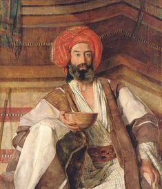 John Frederick Lewis, R. A. - An Arab of the Desert of Sinai