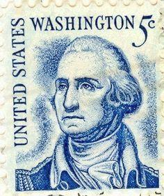 US George Washington Postage Stamp