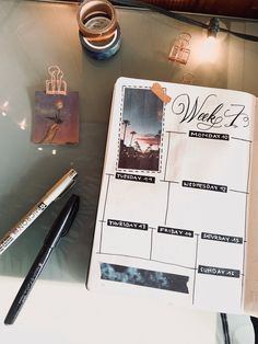 Weekly Spread, Journal Pages, Bujo, Planners, Journaling, Bullet Journal, Caro Diario, Journal Prompts, Address Books