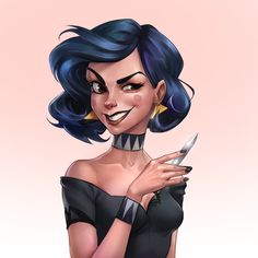 ArtStation - Made the character created by Max Grecke in my style, Anna Anikeyka