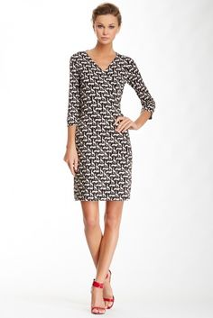 New Julian Two Printed Silk Wrap Dress