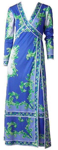 Pant Dress Emilio Pucci, 1970s 1stdibs.com