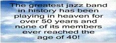 The Music Kept Them Alive And Killed Them!  THEY DIED BEFORE 40 (93 minutes) - a new jazz film to make history  View The Trailer  Which jazz musicians funeral attracted 10000 mourners and an 80-car funeral procession?  Which African American musician was forced to play at the other end of the recording studio with white musicians?  The website for the film has40Hot Points and more(http://jazzdeaths.weebly.com).  More than two dozen gifted jazz artists died before reaching the age of 40. Most…