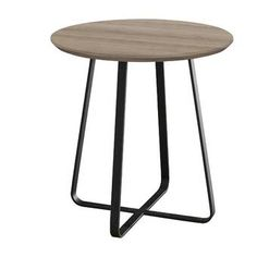 Canora Grey Side Table with Storage & Reviews   Wayfair.co.uk Retro Side Table, Grey Side Table, Round Side Table, End Tables, Side Table With Storage, Metal Drawers, Light Oak, Wood Species, Wood And Metal