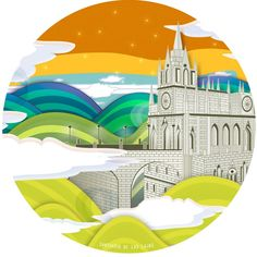 Caja galletas, Santuario Nuestra Señora de Las Lajas