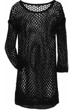 Crocheted Sweater by Theory: On sale, $147 #Sweater #Theory