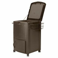 77-quart outdoor cooler in mocha @ Joss & Main