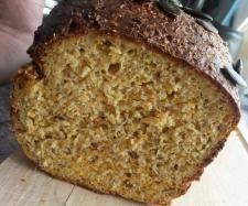 Rezept Eiweißbrot (low carb, proteinreich, ballaststoffreich) von Eu Genie - Rezept der Kategorie Brot & Brötchen