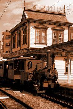 Botchan Train (traditional street car) Matsuyama, Japan Copyright: Dan Leung