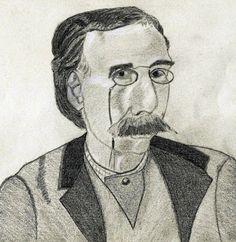 Os Meus Passatempos: Retrato do escritor Camilo Castelo Branco - desenh...