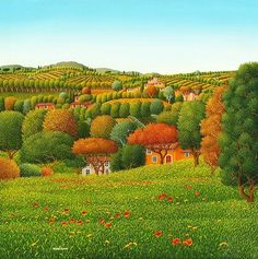 Campagna Toscana by Cesare Marchesini of Italy
