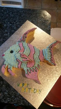 Angelfish Cake Under The Sea Party Pinterest Angelfish Cake