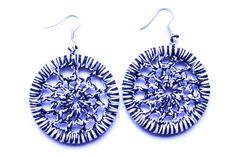 mataza mataza on Etsy Etsy Seller, Crochet Earrings, Drop Earrings, Creative, Jewelry, Earrings, Hand Made, Crocheting, Jewlery