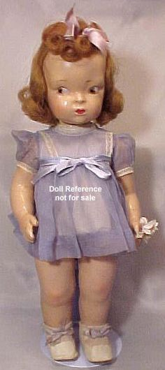 "16"" Compo Terri-Lee doll circa 1946. Terri-Lee Doll Corp.- looks like the doll my mom had when she grew up"