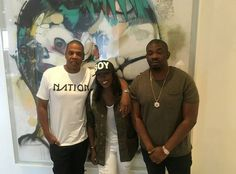 Photos: Don Jazzy Tiwa Savage have fun with Jay Z in NYC