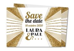 save the date bijoux art deco Planet-cards #savethedate
