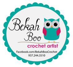 Bekah Boo Crochet Logo created by Johanna Henderson
