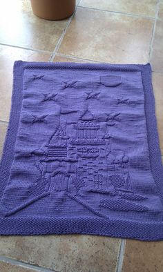 For a princess! I know it's not a dishcloth but still :)