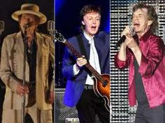 Dylan, McCartney y los Stones confirman en megaconcierto