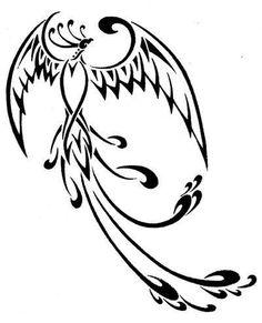 Good elegant tribal phoenix tattoo design by - Tattooimages. - Good elegant tribal phoenix tattoo design by – Tattooimages. Phoenix Tattoo Feminine, Tribal Phoenix Tattoo, Small Phoenix Tattoos, Tribal Sleeve Tattoos, Phoenix Design, Phoenix Tattoo Design, Skull Tattoo Design, Angel Tattoo Designs, Dragon Tattoo Designs