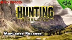 Hunting Simulator 2017 - #6 - Nueva Reserva - Montaña Rocosas - Nuevas A...