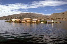 Reed Islands Peru | ... , lakes, latin america, peru, peru border, reed, reed isles, titicaca