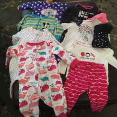 6 Month Baby Girl Clothes Bundle D Baby Girls Clothes And Clothes