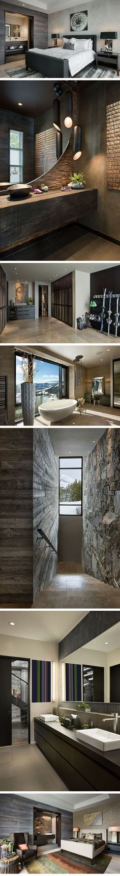 Cool master bathroom