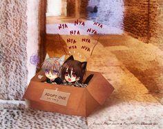 vampire knight funny | funny nekomimi vampire knight anime zero 1280x1024 wallpaper Anime ...