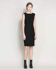 SLEEVELESS DRESS - Dresses - Woman | ZARA Greece