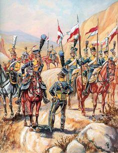 Zaragoza. La Legión del Vístula