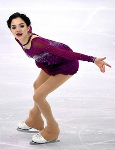 Evgenia Medvedeva of Russia competes in the Ladies' Short Program during day two of the ISU Grand Prix of Figure Skating Final at the Barcelona International Convention Centre on December 2015 in. Get premium, high resolution news photos at Getty Images Roller Skating, Ice Skating, Russian Figure Skater, Women Figure, Ladies Figure, World Figure Skating Championships, Team Events, Skate Style, Ice Princess