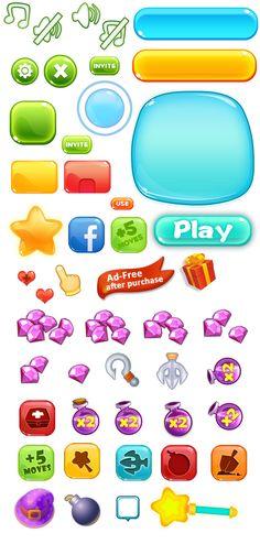 #游戏素材#@vivi是蛋挞采集到游戏icon(366图)_花瓣UI/UX…