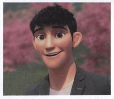 Not gonna lie, if I had a crush on an animated character it would be Tadashi Hamada.