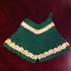 Crocheted potholder bloomers